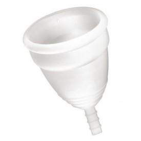 Белая менструальная чаша Yoba Nature Coupe - размер L